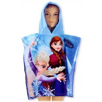 Pončo - osuška s kapucňou Ľadové kráľovstvo - Frozen