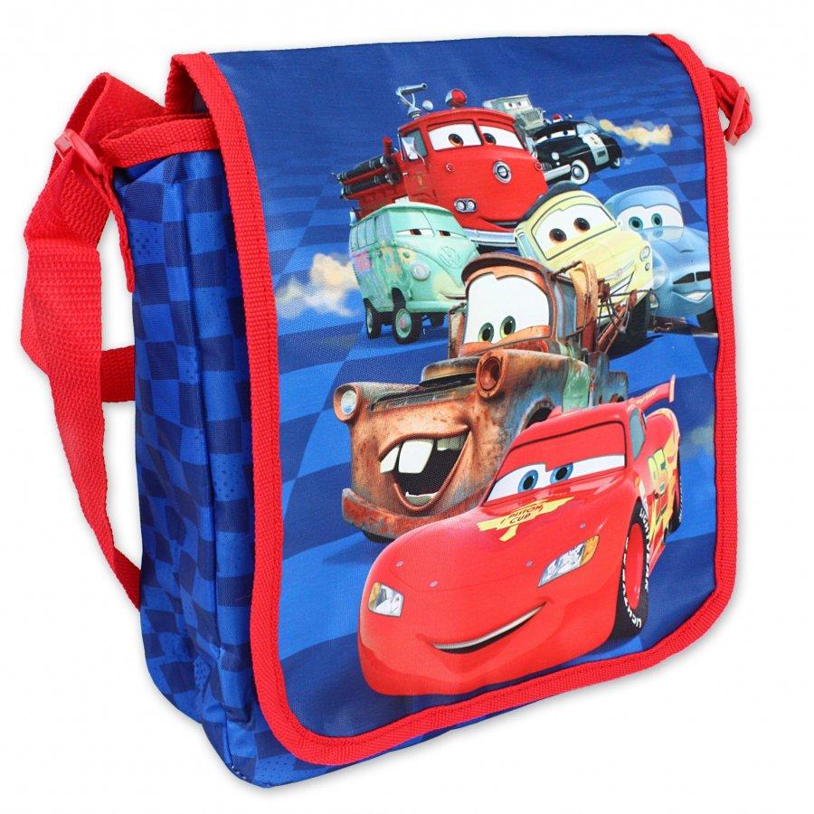 Veľká taška cez rameno Autá - McQueen s kamarátmi