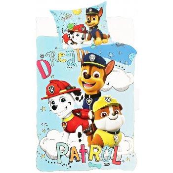 Obliečky do detskej postieľky Tlapková patrola - pre chlapcov