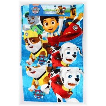 Uterák na ruky + uteráčik na tvár Tlapková patrola - pre chlapcov