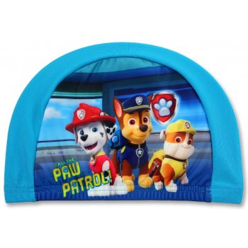 Detská kúpacia čiapka Tlapková patrola - modrá