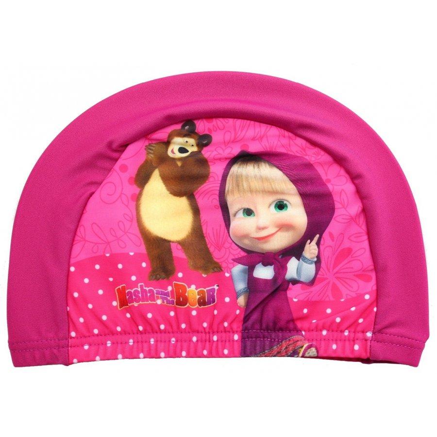 Detská kúpacia čiapka Máša a medveď