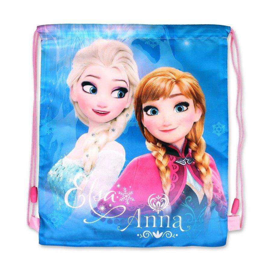 Vrecko na prezúvky Ľadové kráľovstvo - Anna & Elsa
