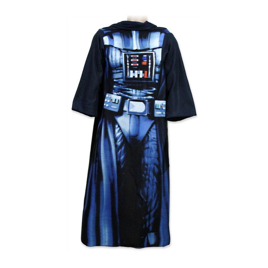 Fleecová televízna deka s rukávmi Star Wars