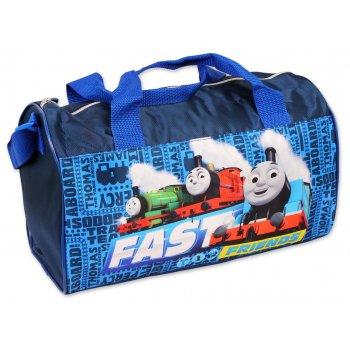 Športová taška Mašinka Tomáš - modrá