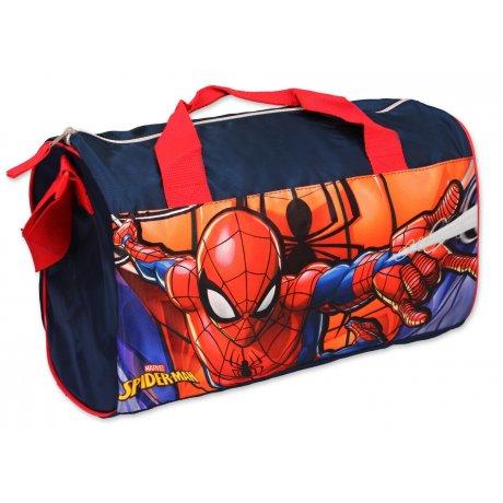Športová taška Spiderman - tm. modrá