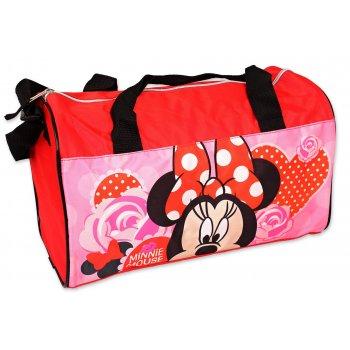 Športová taška Minnie Mouse - Disney - červená