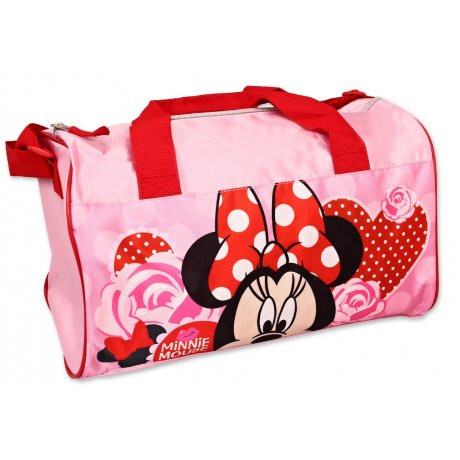 Športová taška Minnie Mouse - Disney - ružová