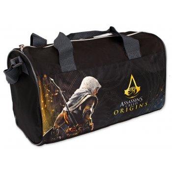 Športová taška Assassin's Creed - čierna