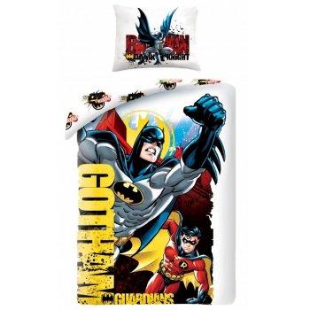 Bavlnené posteľné obliečky Batman - Gotham guardians