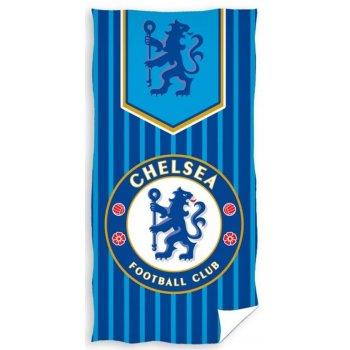 Futbalová osuška FC Chelsea - pruhy