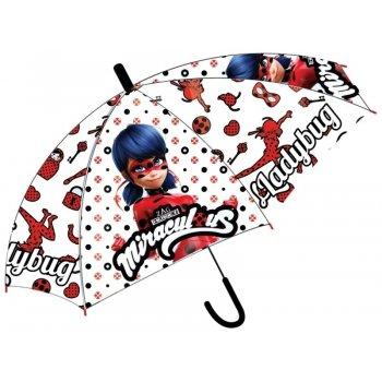 Detský vystreľovací dáždnik Čarovná lienka - Miraculous Ladybug