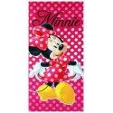 Plážová osuška Minnie Mouse - bodky