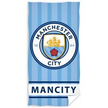 Futbalová osuška FC Manchester City - Stripes