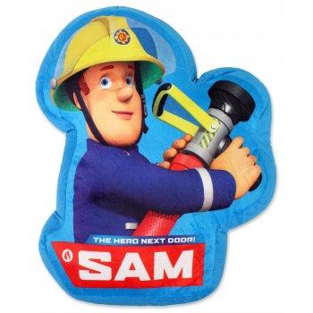 Tvarovaný vankúš Požiarnik Sam