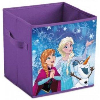 Úložný box na hračky Ľadové kráľovstvo - Anna, Elsa a Olaf
