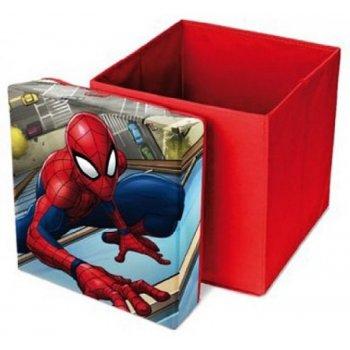 Taburet s úložným priestorom Spiderman