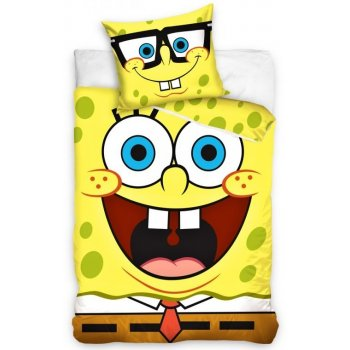 Detské bavlnené posteľné návliečky Spongebob