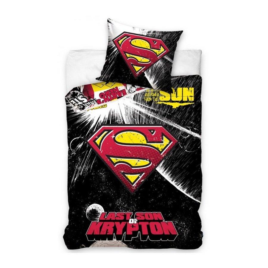 Bavlnené posteľné návliečky SUPERMAN - Last son of Krypton