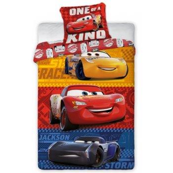 Bavlnené posteľné obliečky Autá 3