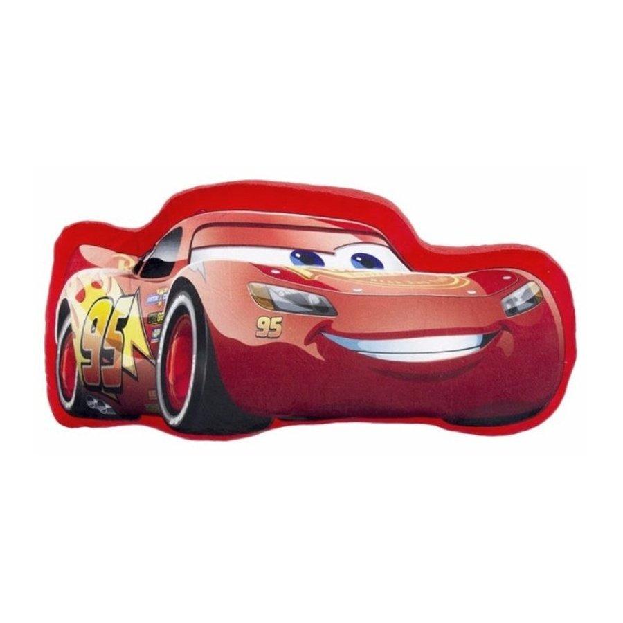 Tvarovaný vankúšik Autá - Blesk McQueen
