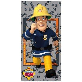 Plážová osuška Požiarnik Sam - Fireman Sam