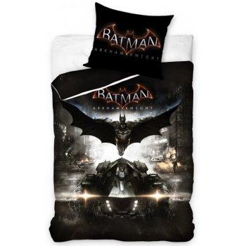 Bavlnené posteľné obliečky Batman Arkham Knight