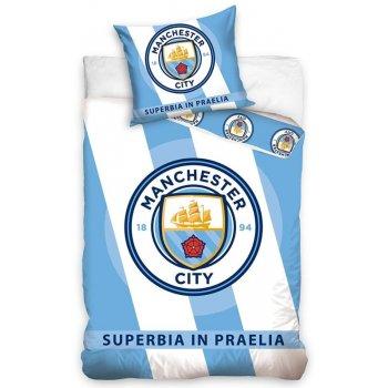 Bavlnené posteľné obliečky Manchester City FC - Superbia in Praelia
