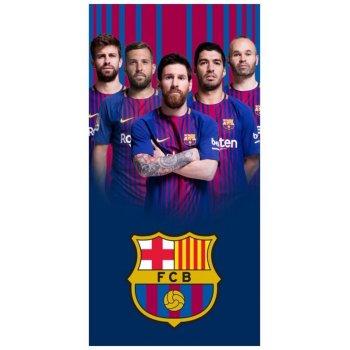 Futbalová osuška FC Barcelona - fotografie hráčov