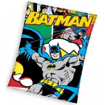 Fleecová deka Batman komiks