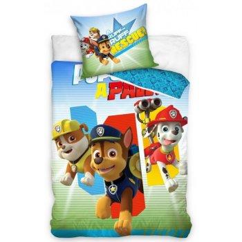 Detské posteľné obliečky Tlapková patrola - Rocky, Chase...