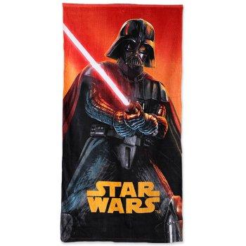 Plážová osuška Star Wars - Darth Vader so svetelným mečom