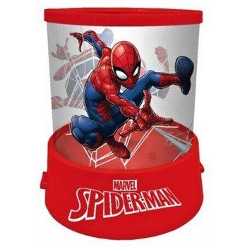 Nočná lampička s projekciou Spiderman