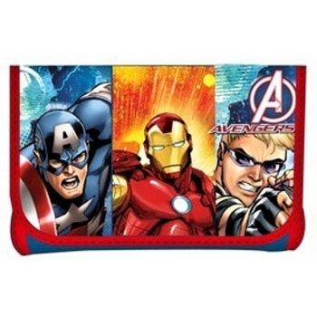 Detská peňaženka Avengers - červená