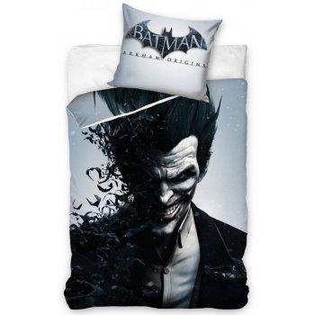 Bavlnené posteľné návliečky Batman Arkham Knight - Joker
