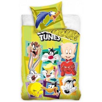 Bavlnené posteľné obliečky Looney Tunes