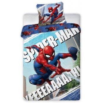 Bavlnené posteľné obliečky Spider-man