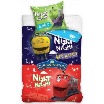 Detské posteľné obliečky Veselé vláčiky - Chuggington