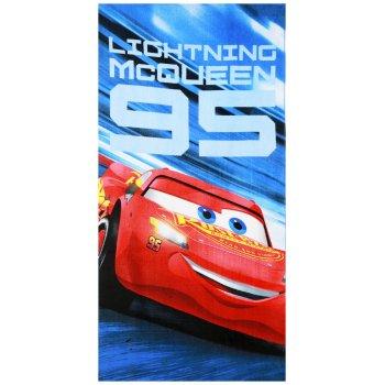 Plážová osuška Autá - Cars - Blesk McQueen 95