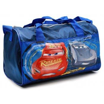 Športová taška Autá - Cars - tm. modrá