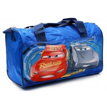 Športová taška Autá - Cars - sv. modrá