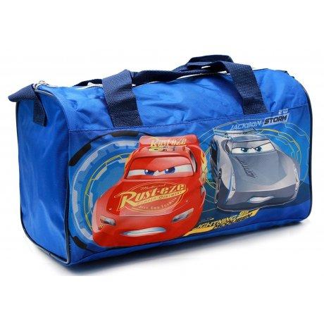 2c47c458e4 Športová taška Autá - Cars - sv. modrá