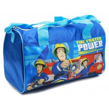 Športová taška Požiarnik Sam - sv. modrá