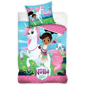Detské posteľné obliečky Nella princezná rytierov