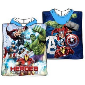 Pončo - osuška s kapucňou Avengers - Heroes