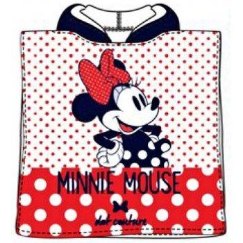 Pončo - osuška s kapucňou Minnie Mouse
