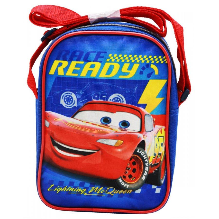 Setino · Detská taška cez rameno / kabelka / crossbag - Autá - Blesk McQueen - Race ready