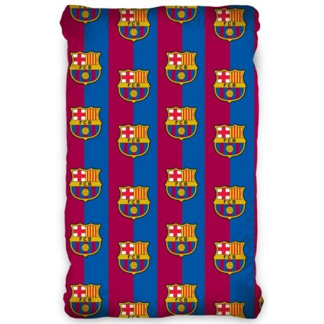 Bavlnené prestieradlo FC Barcelona
