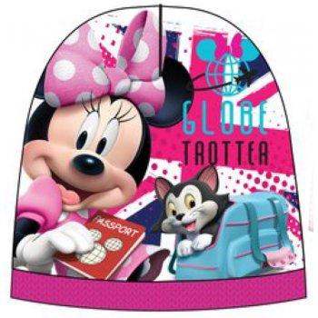 Dievčenská teplá čiapka Minnie Mouse - Disney - ružová