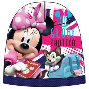 Dievčenská teplá čiapka Minnie Mouse - Disney - modrá